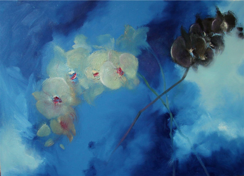 Blumenmalerei - Portraits, Abstrakte und realistische Malerei